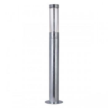 Nordlux DFTP Helix Galvanised Steel Outdoor Bollard Light