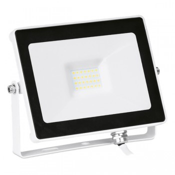 Enlite QuaZar 20W 4000K White Driverless LED Floodlight - 1800lm