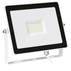 Enlite QuaZar 50W 4000K White Driverless LED Floodlight - 5000lm