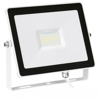 Enlite QuaZar 50W 4000K White Driverless LED Floodlight - 5000lm