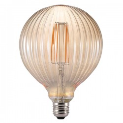 Nordlux Avra Stripes 2W 2200K Non-Dimmable E27 Amber LED Bulb