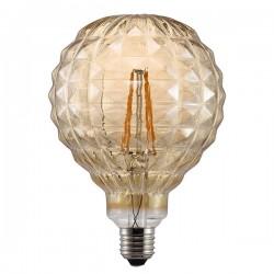 Nordlux Avra Square 2W 2200K Non-Dimmable E27 Amber LED Bulb