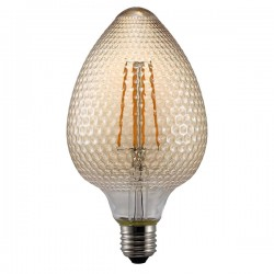 Nordlux Avra Nut 2W 2200K Non-Dimmable E27 Amber LED Bulb