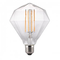 Nordlux Avra Diamond 2W 2200K Non-Dimmable E27 Clear LED Bulb