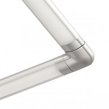 Aurora Lighting Blade Under Cabinet Light Corner Connector Bar