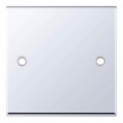 Selectric 7M Polished Chrome 1 Gang Blank Plate