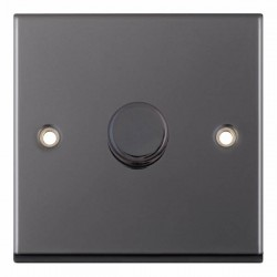 Selectric 7M-Pro Black Nickel 1 Gang 400W 2 Way Dimmer Switch