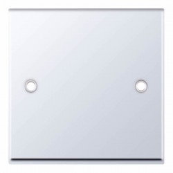 Selectric 7M-Pro Polished Chrome 1 Gang Blank Plate