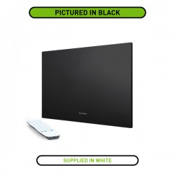 ProofVision Professional 24 Inch Waterproof Bathroom TV with White Finish