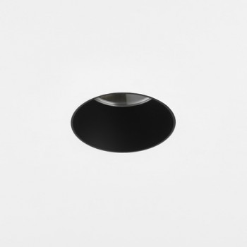 Astro Void Round 80 GU10 Matt Black Bathroom Downlight