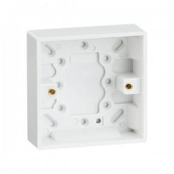 Knightsbridge Square Edge Single 25mm Pattress Box