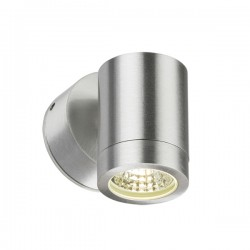 Knightsbridge 3W Aluminium Fixed LED Wall Light