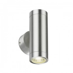 Knightsbridge 2x3W Aluminium Up/Down LED Wall Light
