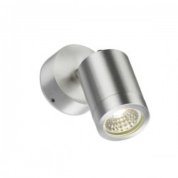 Knightsbridge 3W Aluminium Adjustable LED Wall Light