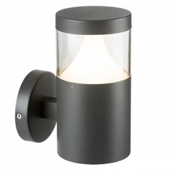 Knightsbridge 35W Anthracite Wall Light