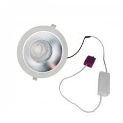 Robus Granada 28W 4000K Non-Dimmable Fixed LED Downlight