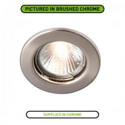 Robus Sally 50W Fixed GU10 Downlight with Chrome Bezel