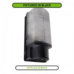 Robus Whitestar 60W White Bulkhead with Photocell