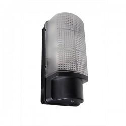 Robus Whitestar 60W Black Bulkhead with Photocell