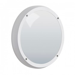 Robus Vega 14W 4000K White LED Bulkhead with Microwave Sensor
