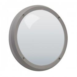 Robus Vega 14W 4000K Grey LED Bulkhead with Microwave Sensor