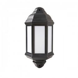 Robus Kerry 7W 4000K Black LED Half Lantern