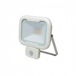 Robus Remy 10W 3000K White LED Floodlight with PIR Sensor