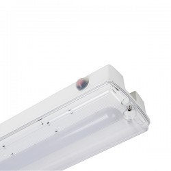 Robus Toga 6.5W 4000K LED Bulkhead with Emergency Backup