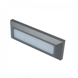 Robus Twilight 3W 3000K Rectangular Outdoor LED Wall Light