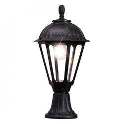 Fumagalli Salem Minilot Black E27 Pedestal Lantern