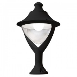 Fumagalli Beppe 400 New Lot 30W 4000K Black LED Pedestal Light