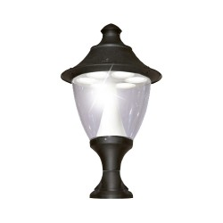 Fumagalli Gino 400 New Lot 70W Black SON Pedestal Light