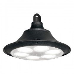 Fumagalli Luigi 400 60W 4000K Black LED Highbay