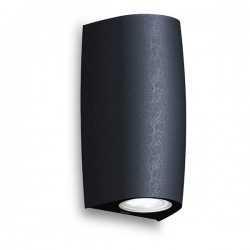 Fumagalli Marta 90 2x3.5W 4000K Black Up/Down LED Wall Light