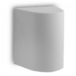 Fumagalli Marta 160 1 7W 4000K Grey LED Wall Light