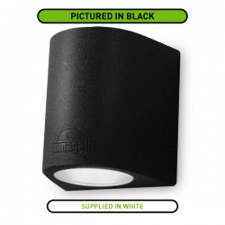 Fumagalli Marta 160 2x10W 3000K White Up/Down LED Wall Light