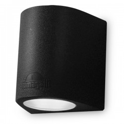 Fumagalli Marta 160 2x7W 4000K Black Up/Down LED Wall Light