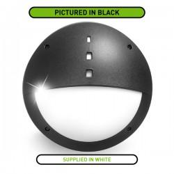 Fumagalli Gelmi-El 9W 4000K White LED Bulkhead with Microwave Sensor