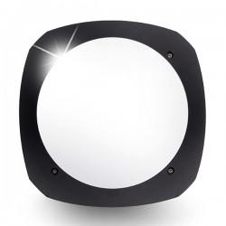 Fumagalli Stucchi 9W 4000K Black LED Bulkhead with Microwave Sensor