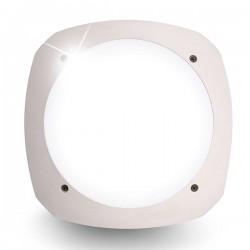 Fumagalli Stucchi 9W 4000K White LED Bulkhead with Microwave Sensor