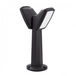 Fumagalli Minipinela Germana 2L 2x20W 4000W Black LED Bollard