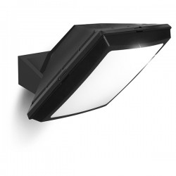 Fumagalli Giuseppe 28W 4000W Black LED Floodlight with Adjustable Bracket