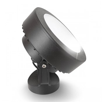 Fumagalli Tommy 10W 3000K Black LED Wall Light