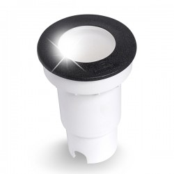 Fumagalli Ceci 90 3.5W 4000K Black LED Ground Light