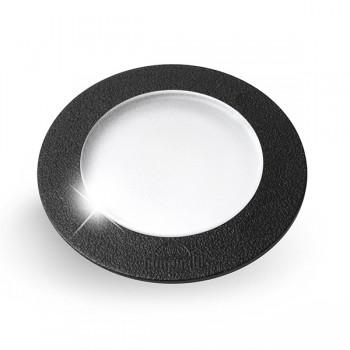 Fumagalli Ceci 120 3W 4000K Black LED Ground Light