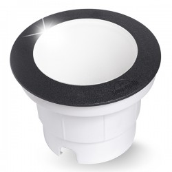 Fumagalli Ceci 160 7W 4000K Black LED Ground Light