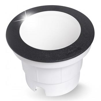 Fumagalli Ceci 160 7W 4000K Black LED Ground Light