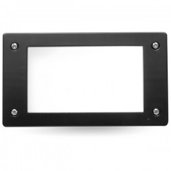 Fumagalli Leti 200 3W 4000K Black LED Brick Light