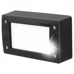 Fumagalli Extraleti 200 3W 4000K Black LED Brick Light