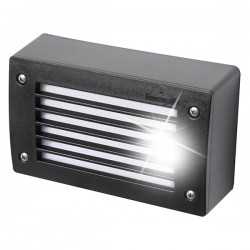 Fumagalli Extraleti 200-GL 3W 4000K Black LED Brick Light